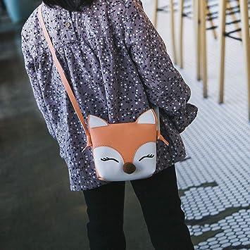 62026b3a3031 Amazon.com : Shoulder Bag Cute Leather Crossbody Bag Mini Fox ...