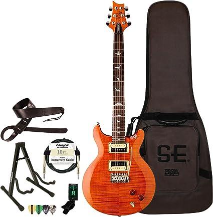 PRS SE Santana guitarra eléctrica con ChromaCast accesorios ...