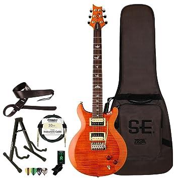 PRS SE Santana guitarra eléctrica con ChromaCast accesorios: Amazon.es: Instrumentos musicales