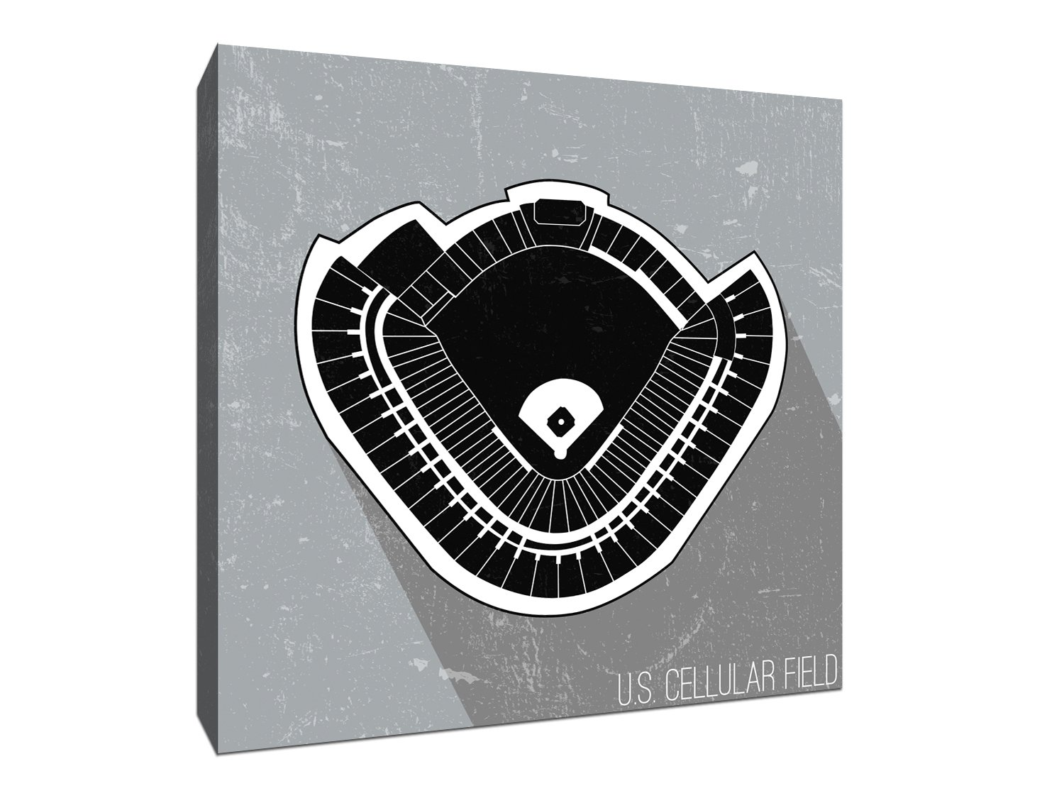 Amazon.com: US Cellular Field Seating Map - MLB Seating Map - 9x9 ...