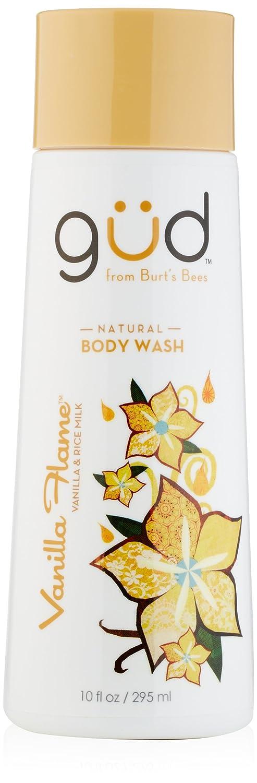 Gud Vanilla Flame Natural Body Wash, 10 Fluid Ounce