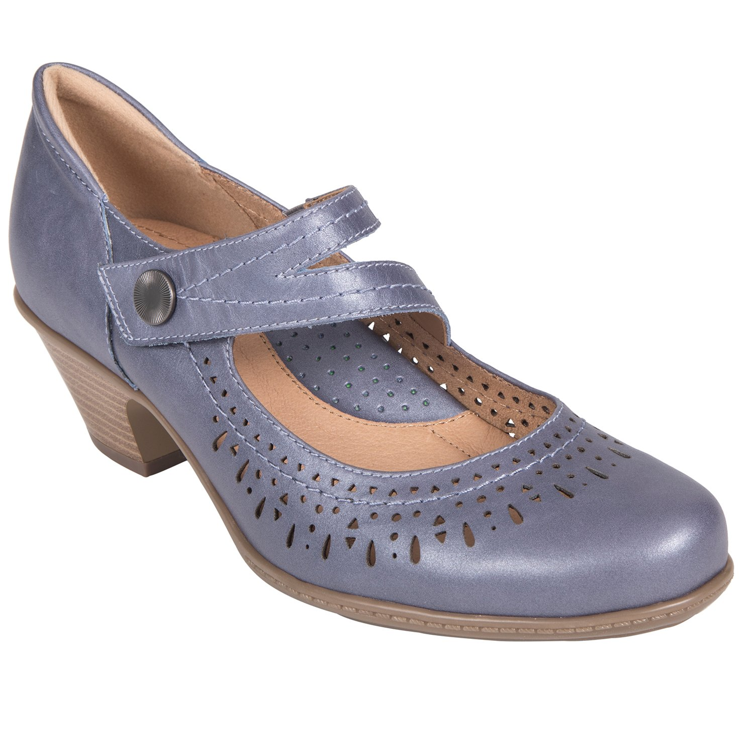 Earth Shoes Dione B078TMD7P5 7 W US Navy