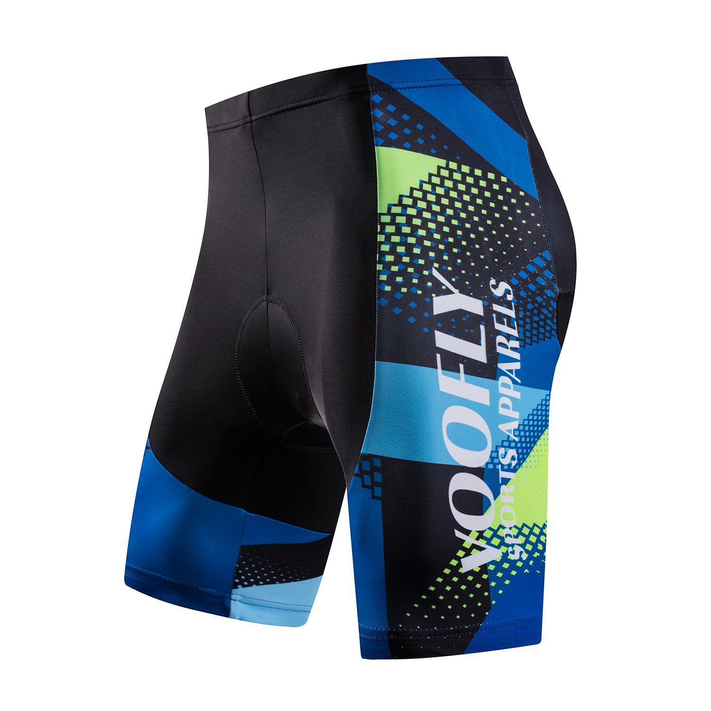 31ca0102c Amazon.com   voofly Men s Cycling Jersey Set Men Short Sleeve Compression Bike  Shorts Gel Padded Biking Clothing   Sports   Outdoors