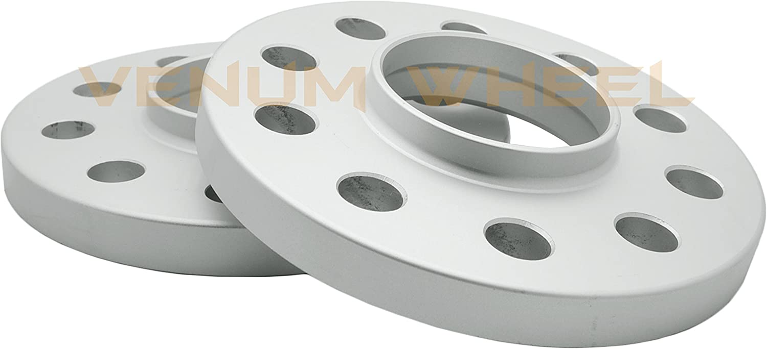 4 Pc 3mm /& 15mm Staggered Mercedes Benz W209 2003-2009 CLK Hub Centric Wheel Spacers wth Chrome Extended Lug Bolts 12x1.5 W209 Factory Wheels