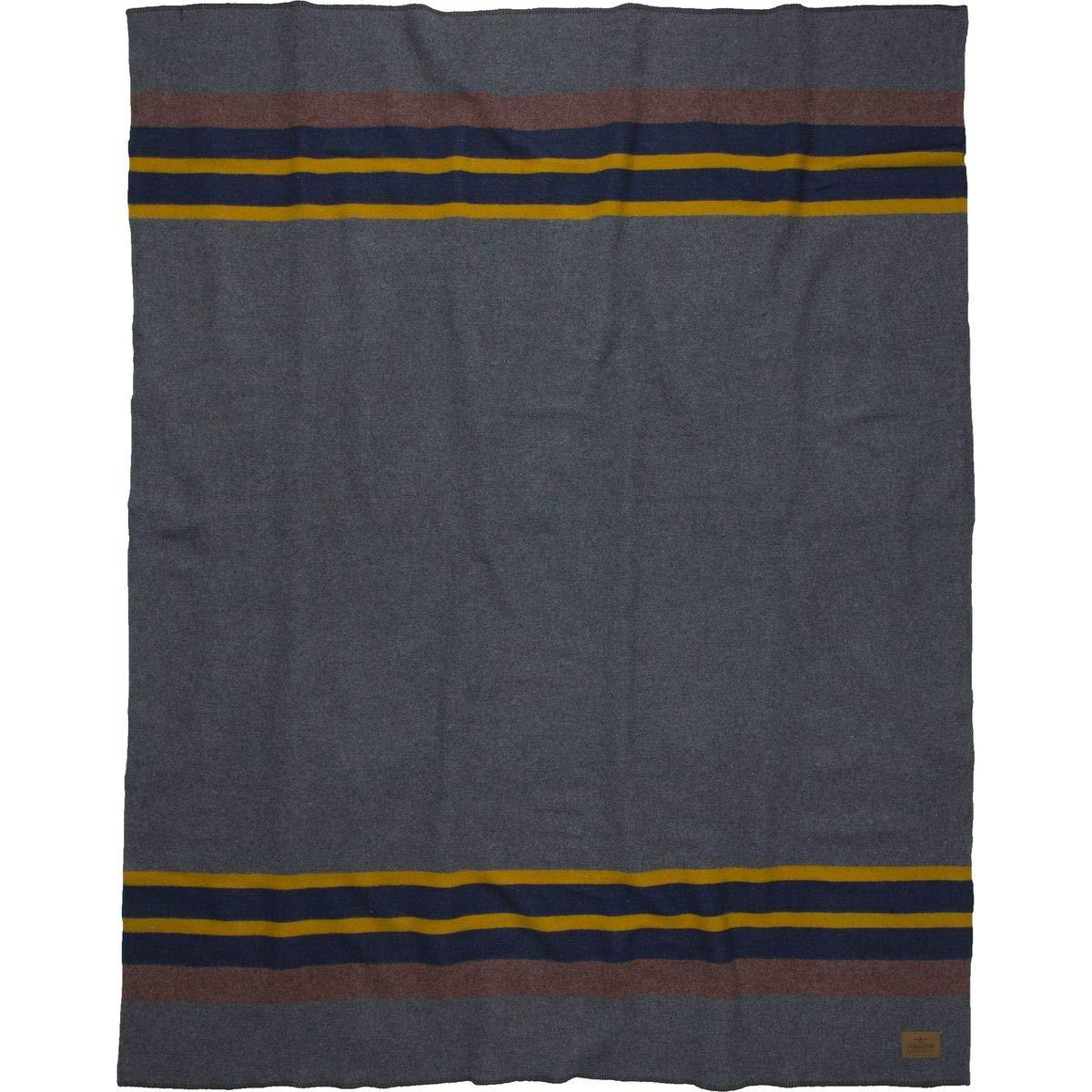 Pendleton キャンプ用毛布 ウール製 掛け布 54X66 ブルー 5945612 B00WH2VI9G