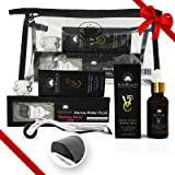Derma Roller Kit 0.3MM and Vitamin C 25% Hyaluronic Serum with Soothing Cream Set Bundle- Best Quality 540 Titanium…