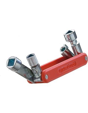 Bocche esagonali Apertura 13x15 mm Sicutool Esecuzione nichelata CHIAVI A TUBO in tubo di acciaio Foro per leve diametro 6,5 mm.