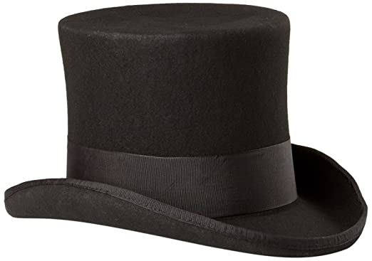 4fbd1798e6f SCALA Men s Wool Felt Top Hat at Amazon Men s Clothing store