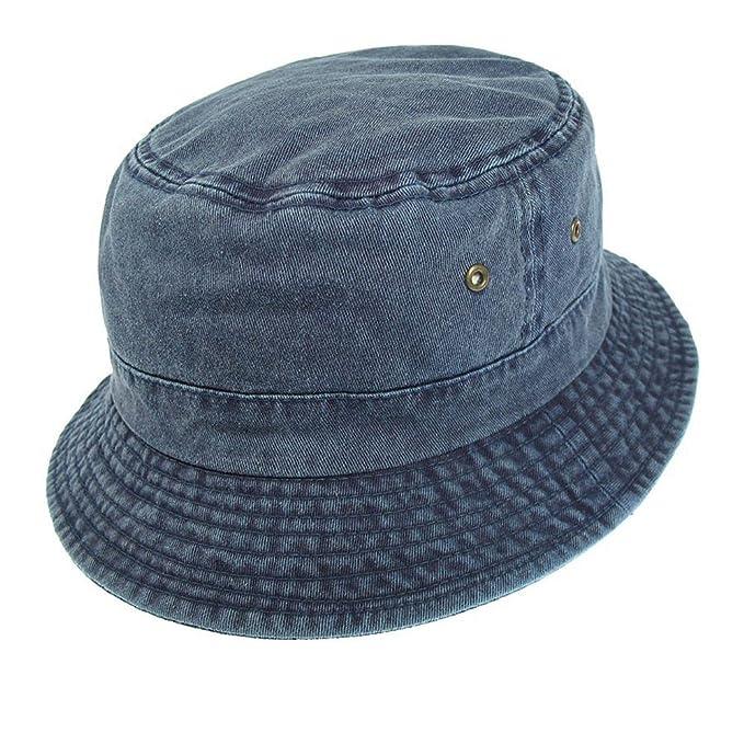 Village Hats Sombrero de pescador de algodón - Azul Marino  Amazon.es  Ropa  y accesorios c1b84722f8a
