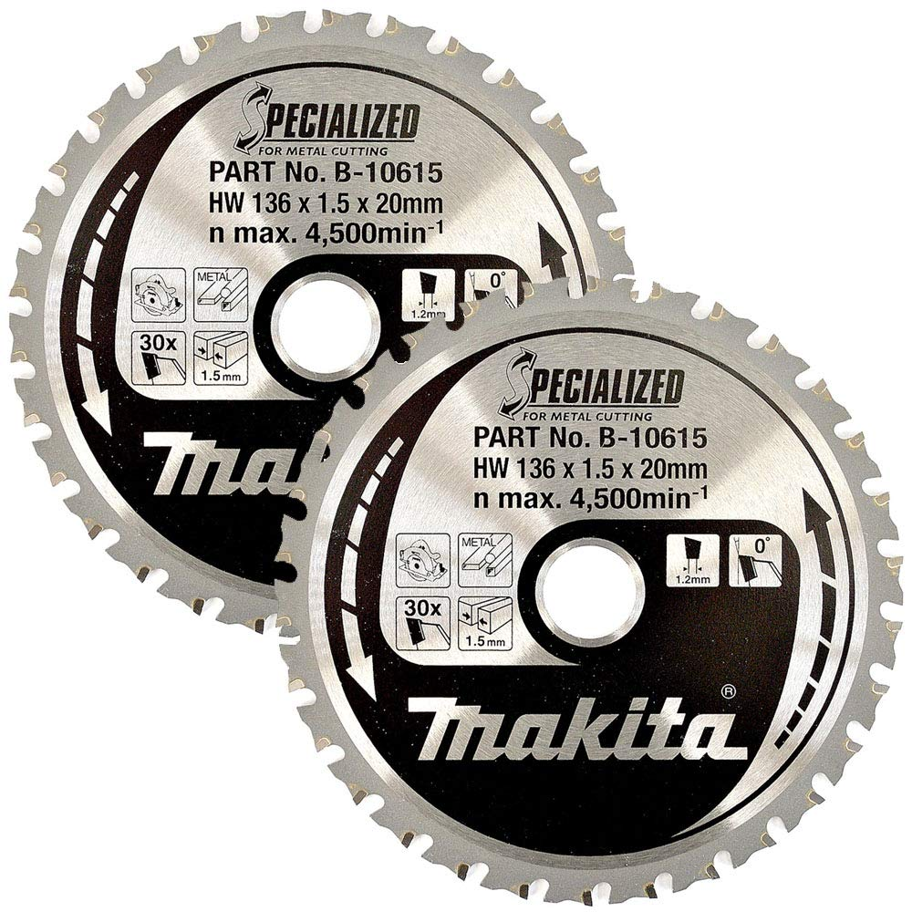 Makita B-10615 136mm x 20mm x 30T Specialized Circular Saw Blade
