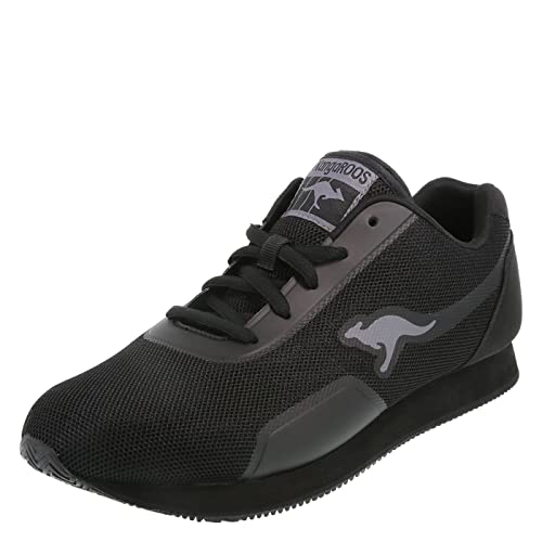 KangaROOS Black Mens Shadow Jogger 7 Regular