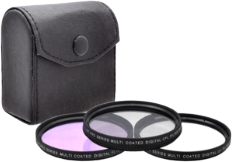 Upgraded Pro 52mm HD MC UV Filter Fits Nikon AF-S DX Nikkor 18-55mm f//3.5-5.6G II 52mm Ultraviolet Filter 52mm UV Filter 52 mm UV Filter