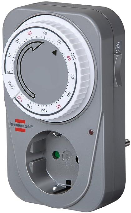 8 opinioni per Brennenstuhl 1506590, Timer countdown meccanico MC 120, Grigio