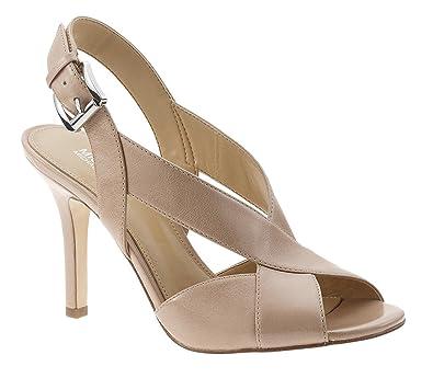 MICHAEL Michael Kors Becky Metallic Dress Sandals WgE5xp6