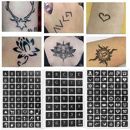 Tatuajes temporales, calcomanía de tatuaje semipermanente coreano ...