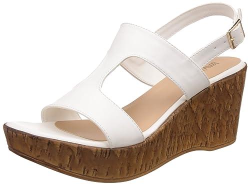 772d059142ad Lavie Women s 6920 Sling Back White Fashion Sandals - 5 UK India (38 ...