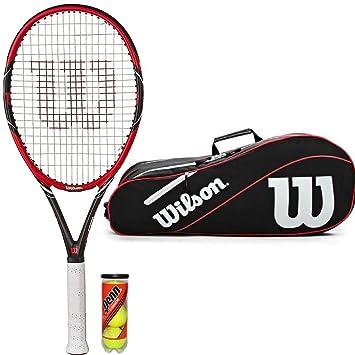 Wilson Envy azul raqueta de tenis Wilson 3 bolsillos ...