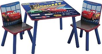 Amazon.com: Delta Children Table & Chair Set, Disney/Pixar Cars: Baby