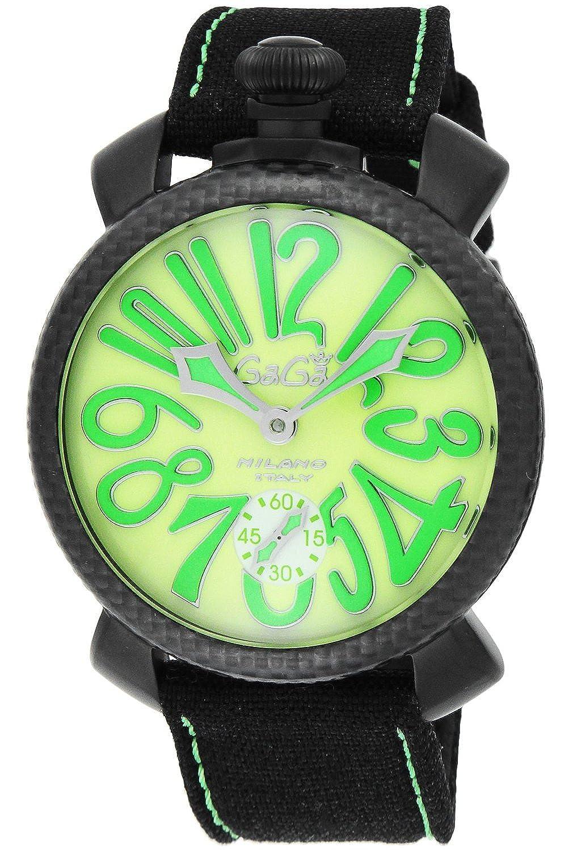 ガガミラノ GaGaMILANO マニュアーレ48 手巻き メンズ 腕時計 5016.11S-BLK[並行輸入] B00KM112BS