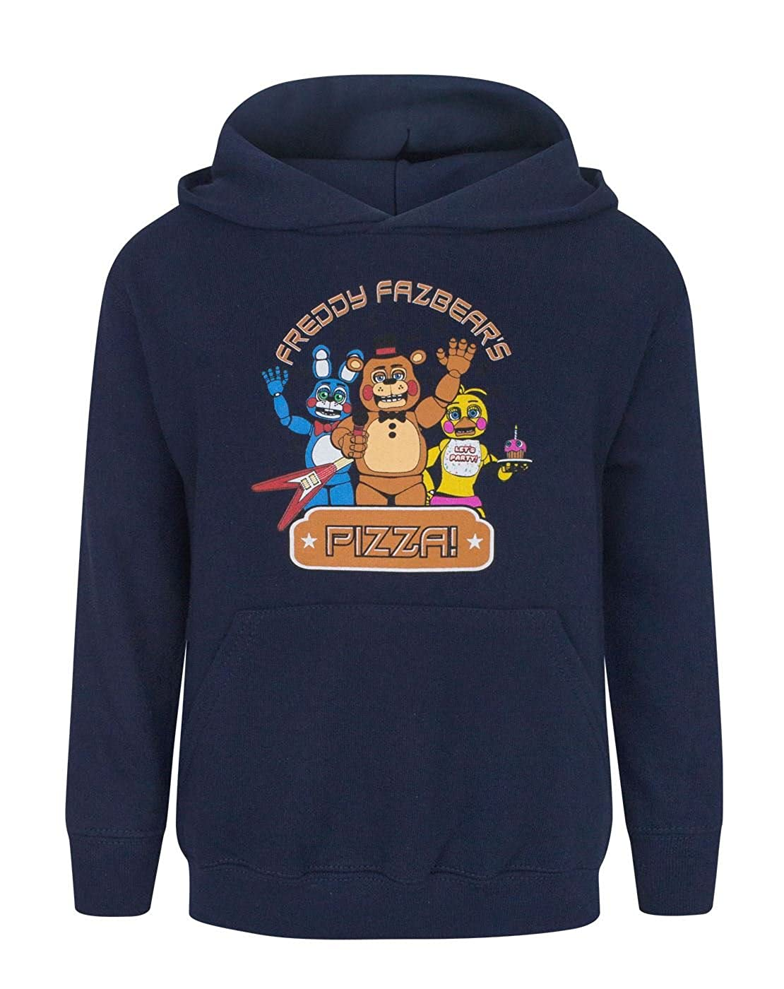 FIVE NIGHTS AT FREDDY'S Pizza Boy's Hoodie Vanilla Underground