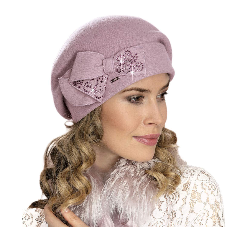 Willi Damen Baskenm/ütze Kopfbedeckung Herbst Winter Uni Pen