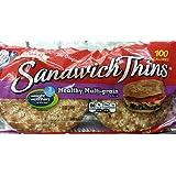 Oroweat Sandwich Thins Multi-grain, Pre-sliced, 8 per package (Pack of 1)