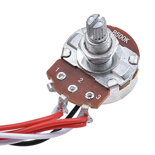 7102NP2e21L._SX522_ kmise prewired wiring harness kit 3 way toggle switch 500k pots EZ Wiring Harness Diagram Chevy at bayanpartner.co