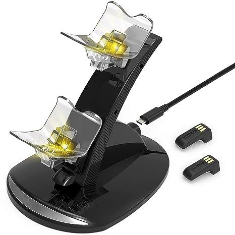 Amazon.com: YCCTEAM PS4 - Estación de carga para mando de ...