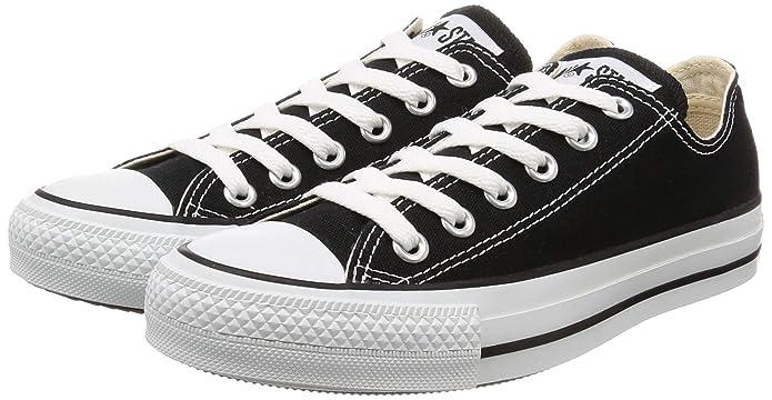 Amazon.com | Converse Unisex Chuck Taylor All Star Low Top Black Sneakers - 9.5 B(M) US Women / 7.5 D(M) US Men | Fashion Sneakers