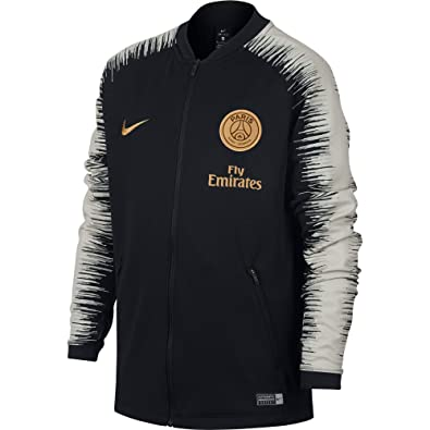 5f628ea4fe Nike PSG et NK anthm FB JKT – Veste Unisexe Enfant, Multicolore (Black/
