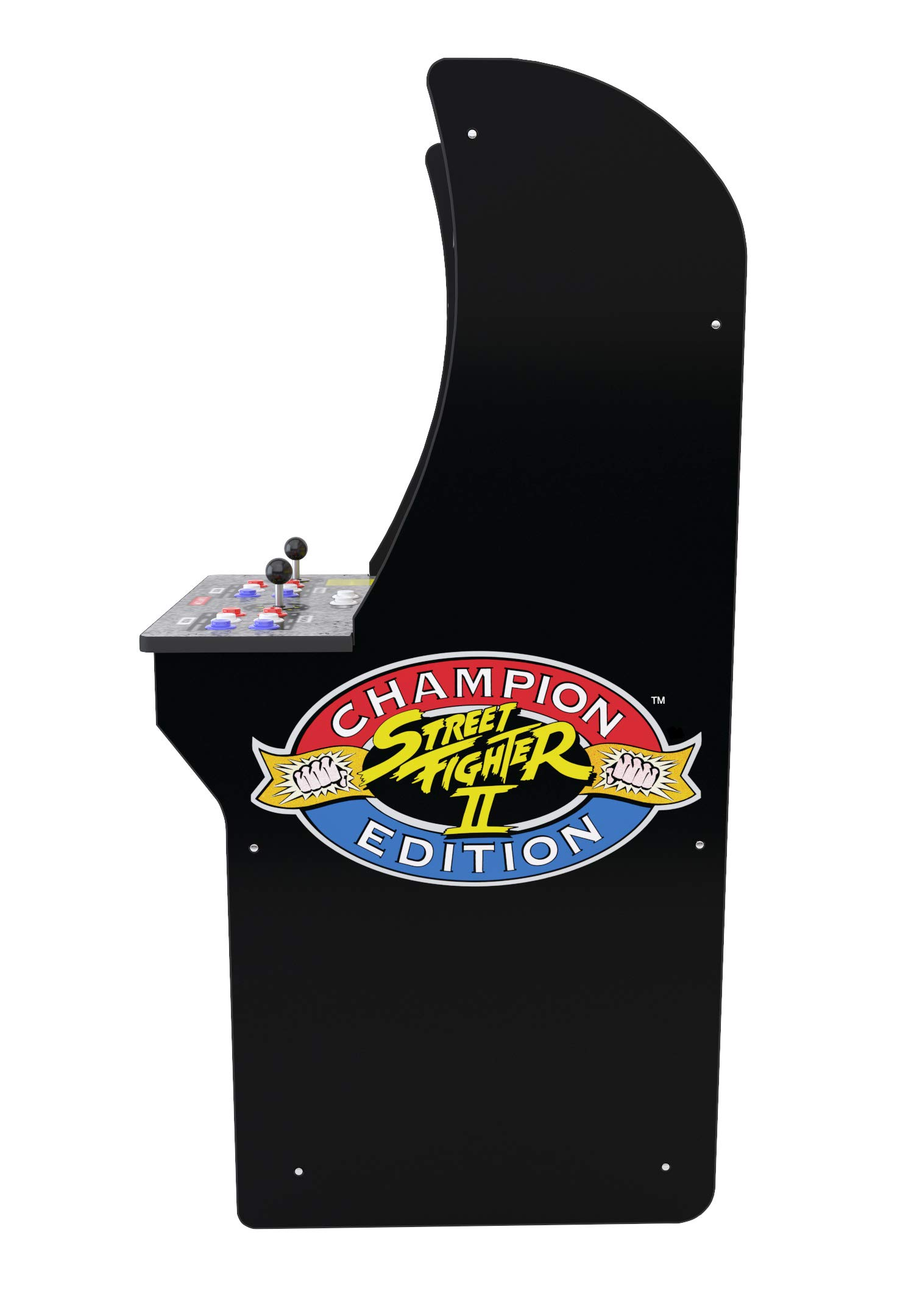 Arcade1Up Street Fighter - Classic 3-in-1 Home Arcade, 4Ft - Not Machine Specific by Arcade1Up (Image #4)