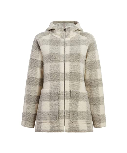 Woolrich Womens Chilly Days Hooded Wool Jacket