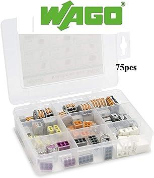 WAGO 51228987 Kit de terminales y empalmes de caja de instalación básica por Gas N Pow3r: Amazon.es: Bricolaje y herramientas