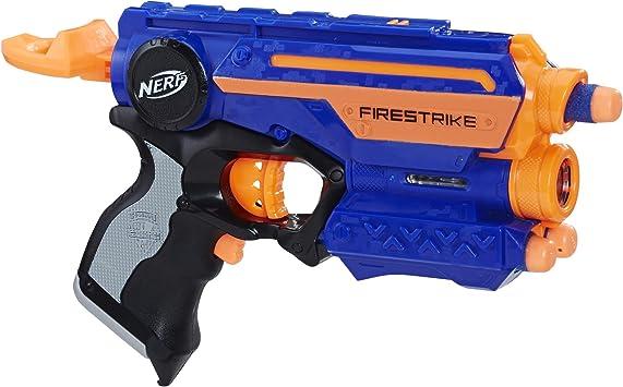 Oferta amazon: Nerf- Lanzador Firestrike, Color azul (Hasbro 53378EU6) , color/modelo surtido