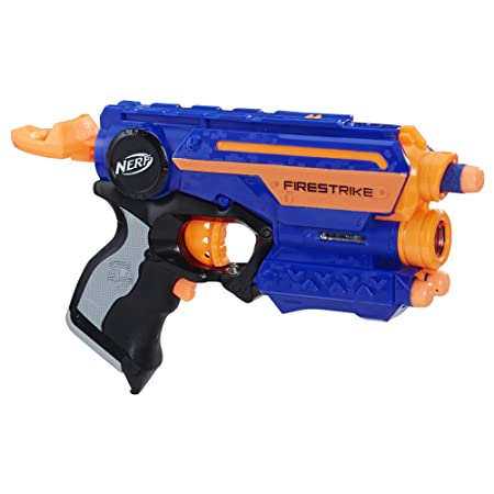 Nerf N-Strike Elite Firestrike Blaster, For Kids Ages 8 and up