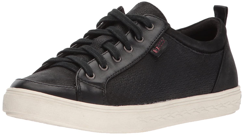 Cobb Hill Women's Willa Lace to Toe Sneaker B01MZIR8U5 8 B(M) US|Black Leather