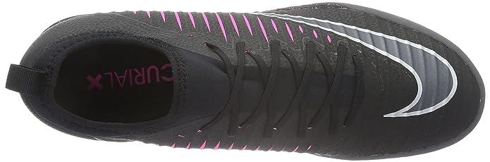 Amazon.com | Nike MercurialX Finale TF Turf Soccer Shoe (Sz. 10.5) Black, Pink Blast | Soccer