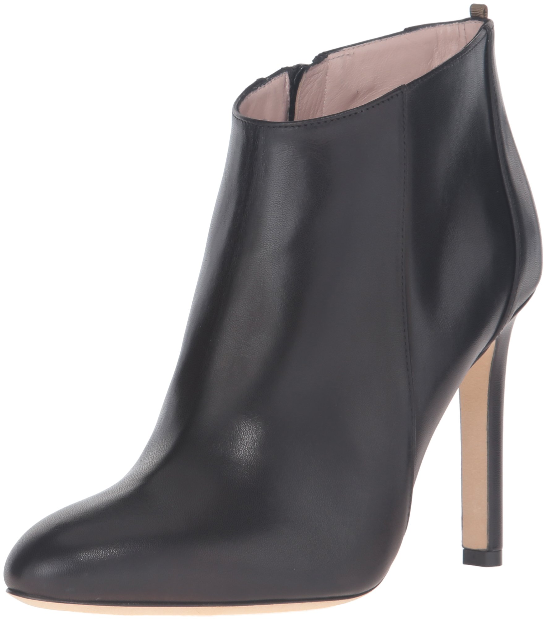 SJP by Sarah Jessica Parker Women's Neue Dress Pump, Black Leather, 38 EU/7.5 M US