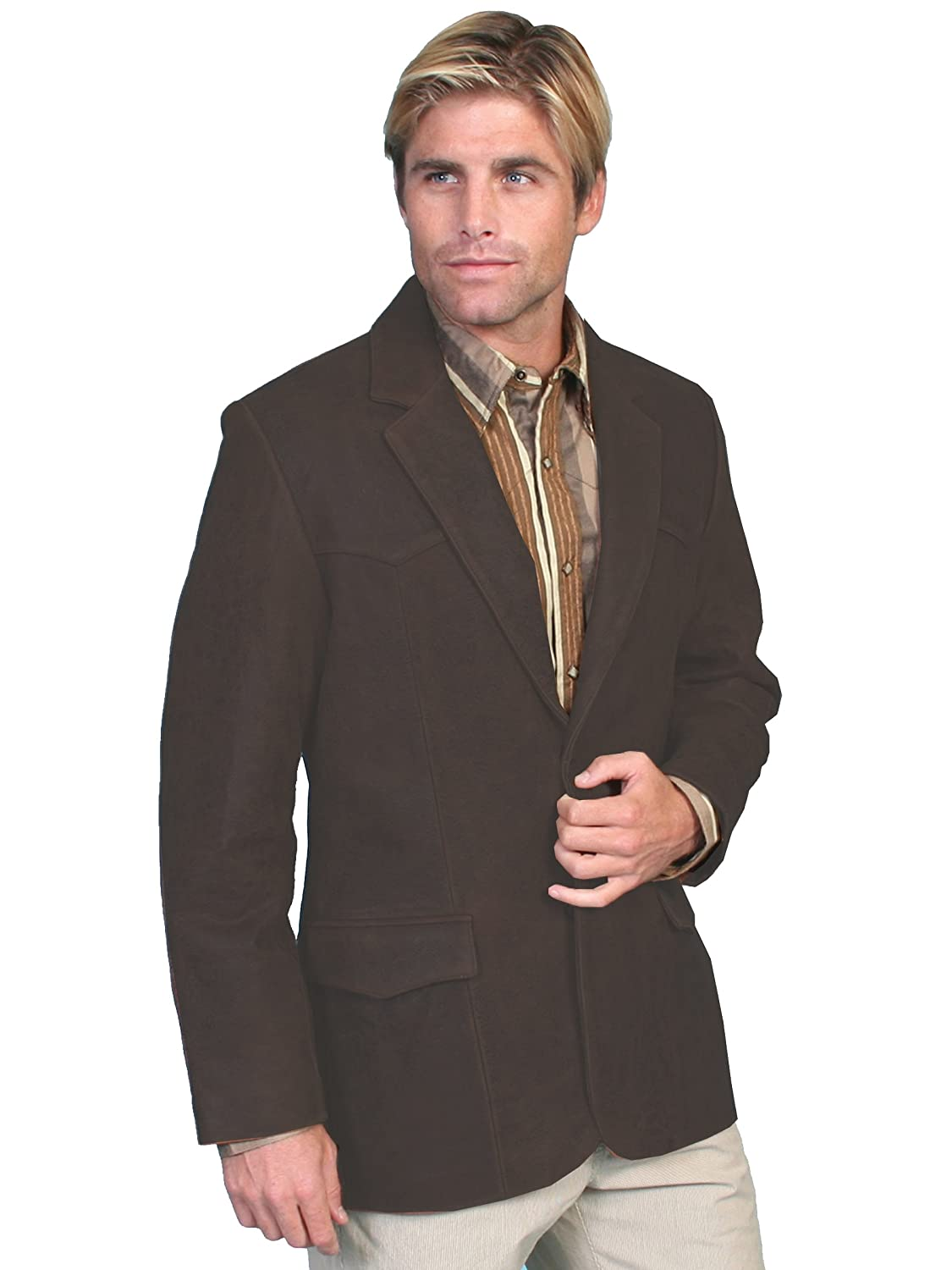 Scully Men's Oakridge Western Leather Blazer - 602-63 082975