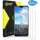 CRXOOX 3 Pack Vetro Temperato per Huawei Honor 10 Vetro Protezione Senza Bolle d'Dria Pellicola Vetro 9H AntiGraffio Pellicole Protettive Anti Urto Screen Protector per Huawei Honor 10 Trasparente