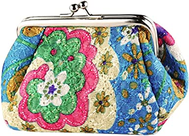 Fashion Dont Worry Be Happy Key Buckle Coin Purse For Womens