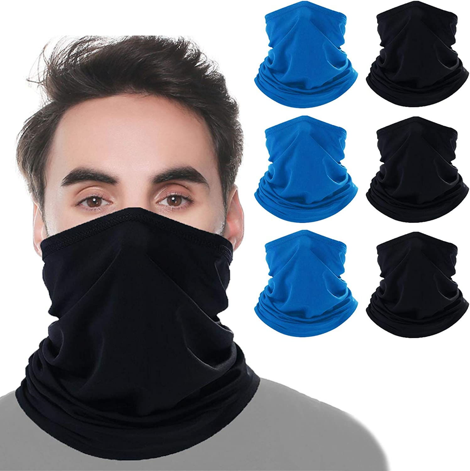 UV Face Mask Protection Windproof Scarf for Sports/&Outdoor Headband Cooling Head Wrap for Men//Woman KERTIN Multi-Cool Neck Gaiter Summer Face Mask Reusable