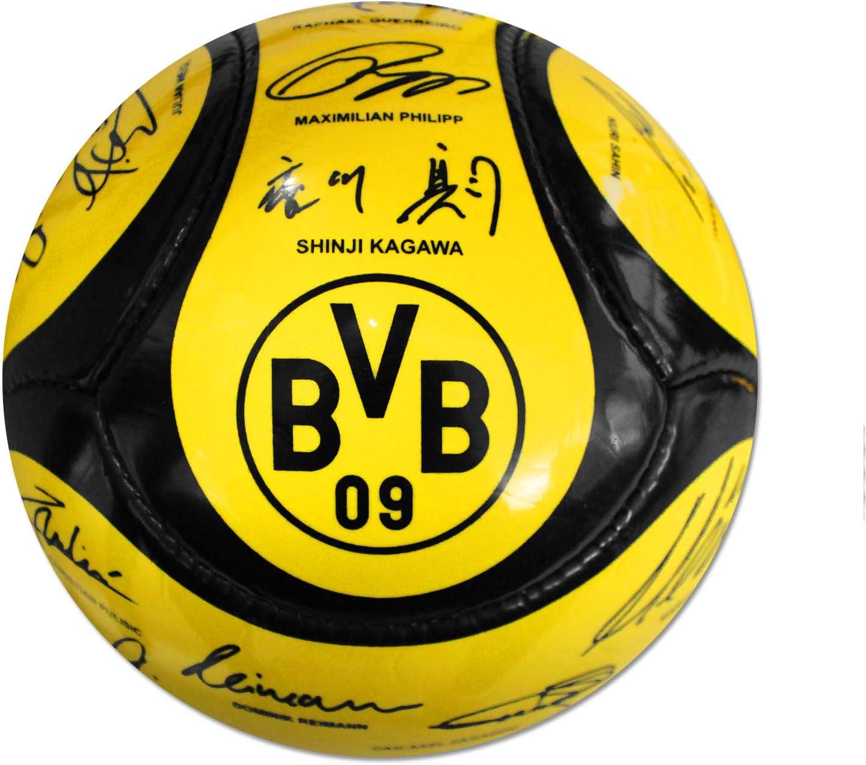 Balón de fútbol del equipo BVB Borussia Dortmund, firmado, talla5 ...