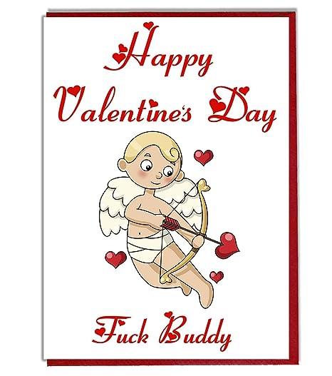 AK Giftshop Tarjeta de San Valentín, Cupido - Amor - para un ...