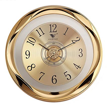 Amazon.com: Wall Clock, Lingxuinfo 12 Inch Round Silent Wall Clock ...