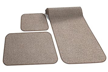 Amazon Com Prest O Fit 5 0258 Decorian 3 Piece Rv Rug Set Sandstone
