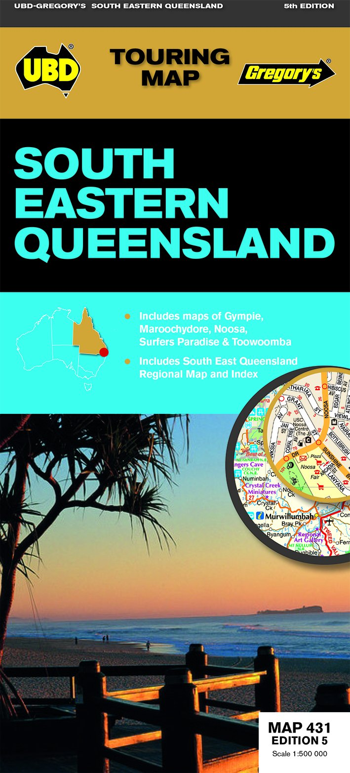 South Eastern Queensland Map 431 PDF