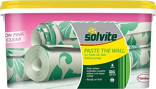 Ready to Use Wallpaper Paste for Hanging Borders /& for Solvite Overlap /& Border