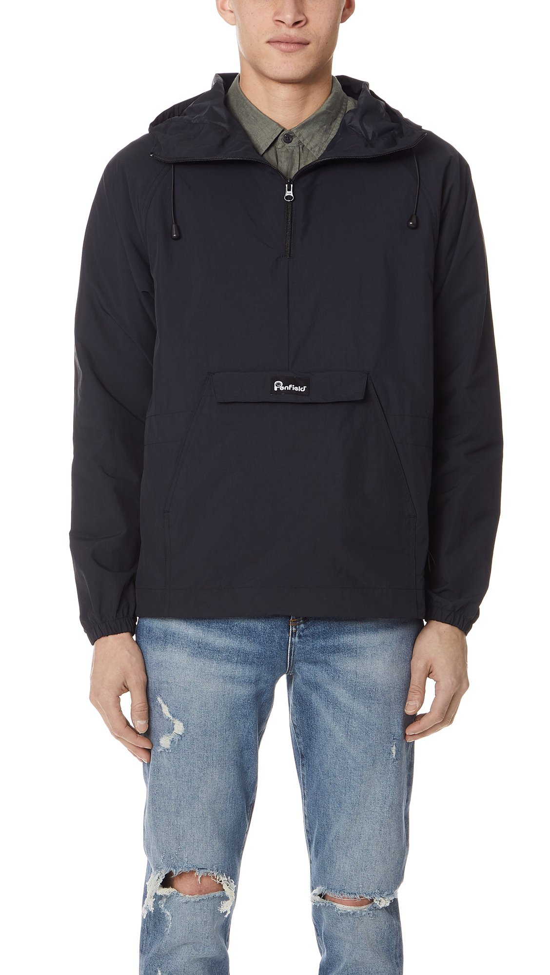 Penfield Men's Pacjac Pullover Jacket, Black, Large by Penfield