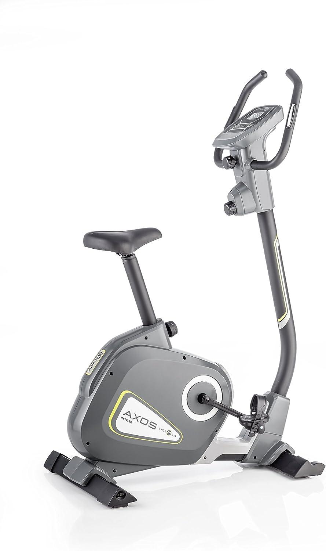 Kettler Bicicleta estática Axos Cycle M de la, Gris/Amarillo ...